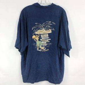 Tommy Bahama Lost & Swingin In Paradise Silk Shirt